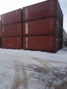 20 Foot SEA CAN SHIPPING CONTAINER VERY NICE CONDITION