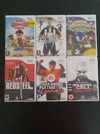 Nintendo Wii Games Bundle