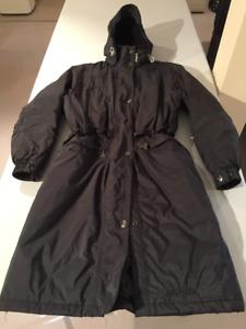 Manteau long d'hiver pour femme