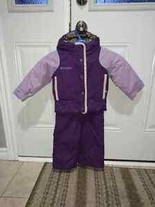 Columbia toddler girls snowsuit