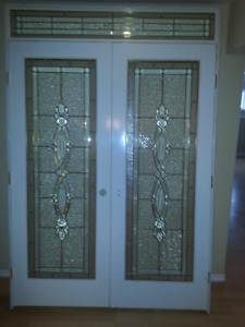 FRENCH DOORS With DAYLIGHT transom