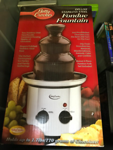 Betty Crocker Stainless Steel Fondue Fountain