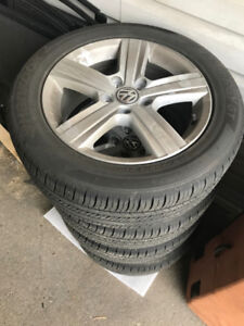 "New 16"" 2018 VW Golf rims and tires"