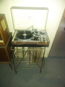 Record player from 50s.