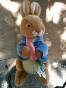 Peter Rabbit plush toy, Eden brand