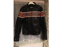 Harley Davidson leather jacket size M