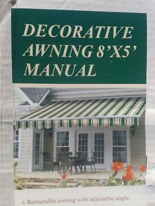 New in box Awning