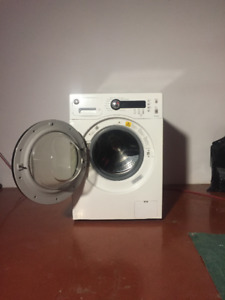 """GE 24"""" FRONT LOAD WASHER - WCVH4800KWW - VERY GOOD CONDITION"""