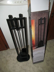 Threshold Fireplace Tool Set (brand new in box)