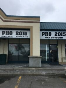 Fully Equipped Vietnamese Restaurant in Orleans for Sale