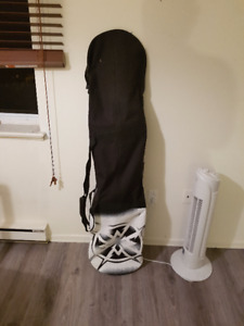 Used snowboard + helmet + boots + goggles CHEAP!