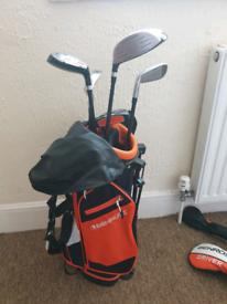 Benross Aero Orange Junior Package Set, Kids, right hand