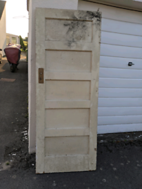 Vintage 1930s internal door