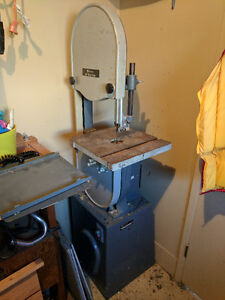 "Selling 14"" Rockwell Bandsaw"