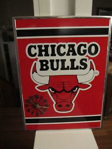 Chicago Bulls NBA wall clock
