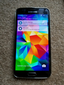Samsung S5 mint condition
