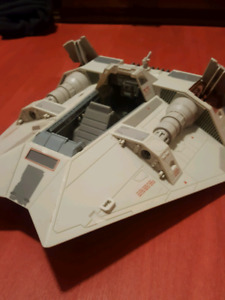 "Star Wars ""snow speeder."""