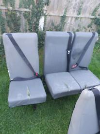 Van Seats with Seat Belts BARGAIN £10 EACH
