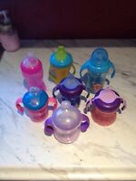 Baby Girl Sippy Cups