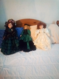 3 lovely portion dolls all for £30