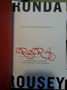 Ronda Rousey Autographed Signed Book Limited Edition! Kitchener / Waterloo Kitchener Area image 2