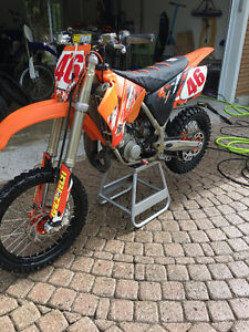 KTM SX 105 with ownership
