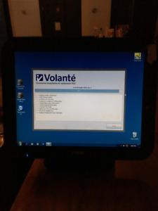 """POS Terminal Touch Screen Tisso 15"""" - Volante Installed"""