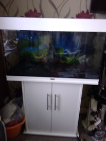 JEWELl 125 RIO TROPICAL FISH TANK LOTS OF Extras ADDED