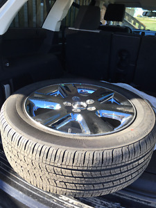 I SELL TIRE AND RIM NEW FOR DODGE JOURNEY. (ALL SEASONS)