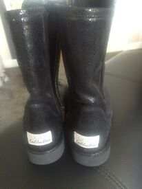 UGG collection size 3 black ankle boots