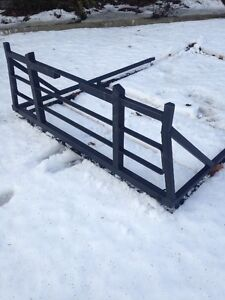 Back Rack With Rails