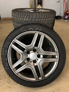 Dunlop SP Winter Sport 3D Winter Tires on Alloy Rims 245/40R17