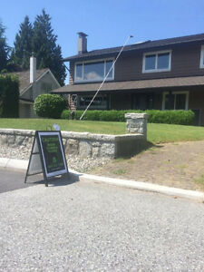 Greenest City By 2020!! Book Your Chemical Free Window Cleaning! North Shore Greater Vancouver Area image 1