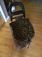 FASHIONABLE CARRY BAG ON WHEELS