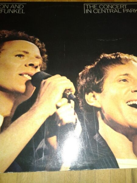 Simon and Garfunkel: The Concert in Central Park ,2 lp