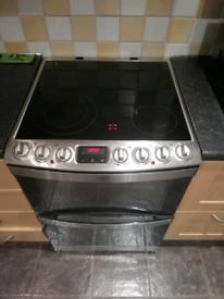 AEG double fan electric oven
