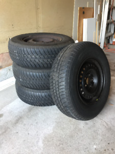 "Barely used 14"" All Season Tires"