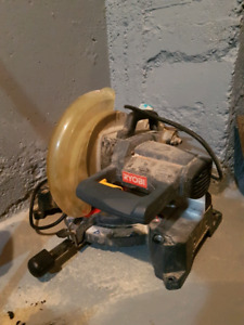 Ten inch mitre saw
