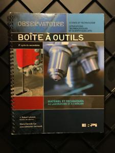 Observatoire - Boîte à outils (2e cycle du secondaire)