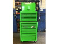 """26"""" SNAP ON TOOLBOX - IMMACULATE - Ford Focus RS green"""