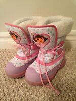 Dora the Explorer Winter Boots