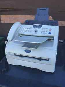 BROTHER INTELLIFAX-2820 ALL IN ONE B/W PRINTER-FAX-COPIER (USED) West Island Greater Montréal image 1