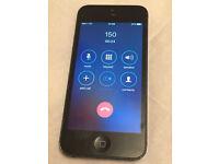 Apple iPhone 5 16GB factory unlocked black slate (5053)£90