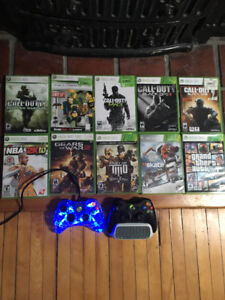 Xbox 360 with 10 games $150 OBO