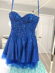Beautiful Beaded May Queen Prom or Graduation Dress Size 6
