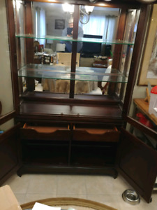Moving sale china cabinet