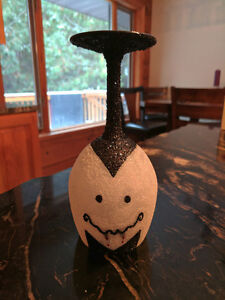 Halloween Themed Wine Glass Candle Holders Peterborough Peterborough Area image 2