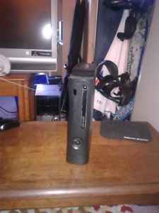 Xbox 360 elite with games and everything else