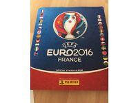 Euro 2016 football stickers, swaps