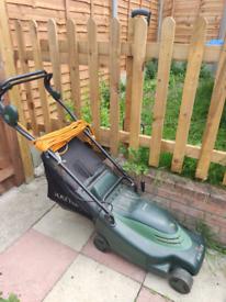 HAYTER ENVOY 36 Rotary Electric Lawn Mower - Rear Roller